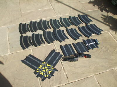 Scalextric Sports Track Job Lot And Hand Controls • 22£