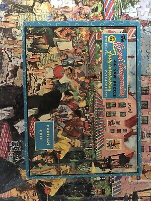Good Companion 400 Piece Jigsaw Puzzle Number 72 Complete! • 8£