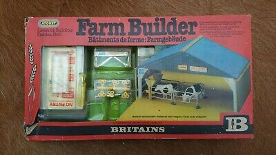 Britains Vintage Farm Atcost Farm Builder Construction Kit 4709 - BOXED  • 39£