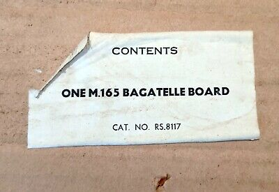 Vintage Bagatelle Board (From Kays Worcester) Circa 1967 Good Condition In Origi • 18£