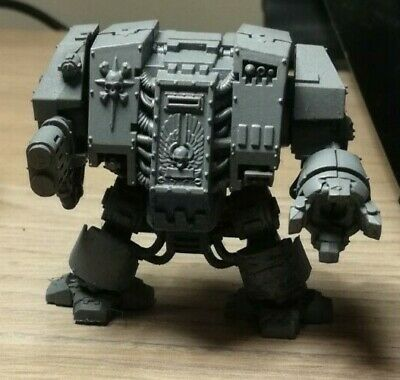 Warhammer 40k Space Marine Dreadnought With Multimelta, Unpainted. • 11£