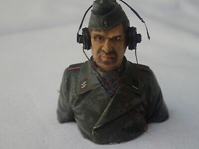 German Tank Commander For 1/16 Tank - Painted - Chest And Head • 16.91£