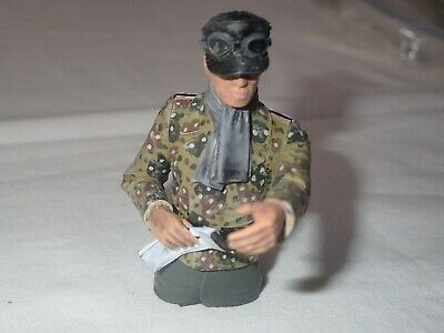 German Tank Commander For 1/16 Tank - Painted - Map Reader • 19.73£