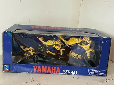 1:12 1:18 1:24 Yamaha YZR M1 2006 CAMEL Valentino Rossi VR 46 SET By New Ray • 42£