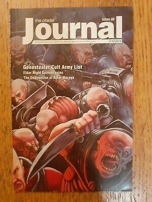 Citadel Journal Magazine #40. Used. Good Condition. Rare. OOP • 15£