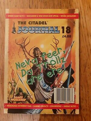 Citadel Journal Magazine #18. Used. Good Condition. Rare. OOP • 15£