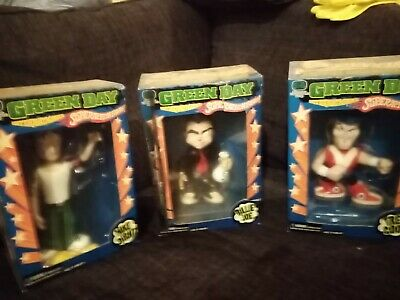 Green Day Super Action Figures Full Set Unopened Factory Sealed Rare Bnib • 65£