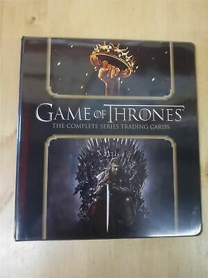 Game Of Thrones Complete Official Rittenhouse Archives Binder • 24.99£