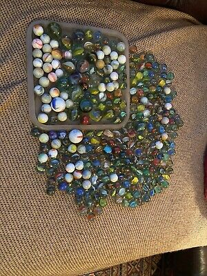 Large Collection Of Vintage/antique Marbles • 20£