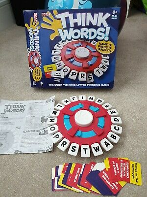 Think Words Family Game The Quick Thinking Letter Pressing Game  • 7.90£