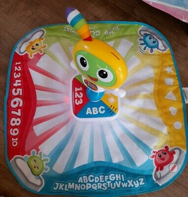 Fisher Price Bright Beats Mat Letters Colors Songs • 3£