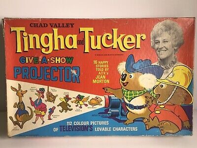 Vintage Chad Valley  Tingha And Tucker Give-a-show Projector (wb) • 44.99£