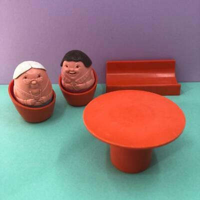 Vintage Airfix Weebles House Cottage Furniture Toy Figures Set Sofa Chairs 1970s • 14.99£