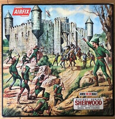Airfix Sherwood Castle Kit - OO / HO Scale - Boxed • 150£
