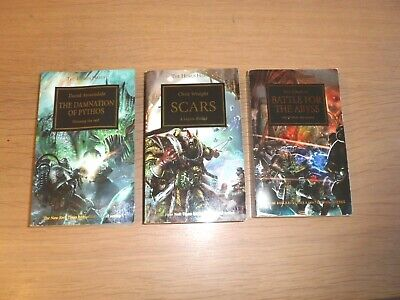 LOT 2 HORUS HERESY BOOKS X 3 – SCARS, BATTLE FOR THE ABYSS Etc    • 4.99£