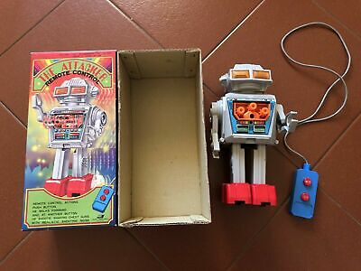 Vintage The Attacker Robot From Junior Toy Of Japan In Excellent Condition + Box • 200£