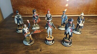 Vtg Napoleonic Lead Soldier Military Army War Collector Figures British European • 5.50£