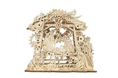 UGEARS Mechanical Wooden Model Kit. NATIVITY SCENE. • 12.75£