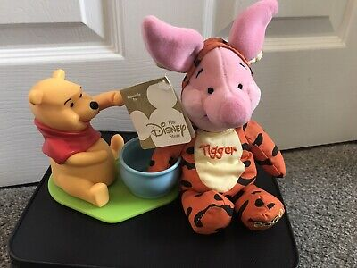 Winnie The Pooh, Piglet Dressed As Tigger Beanie *vintage 2000 With Tags* • 1.10£