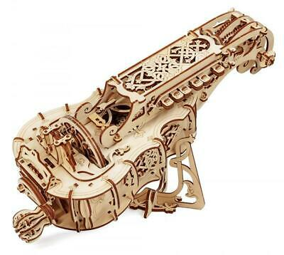 UGEARS Mechanical Wooden Model Kit. HURDY GURDY 70030 • 52.99£