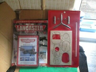 Hachette 1:32 Scale Build The Lancaster Bomber (issue 1 With Part) New  • 9.99£