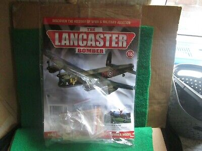 Hachette 1:32 Scale Build The Lancaster Bomber (issue 116 With Part) New  • 14.99£