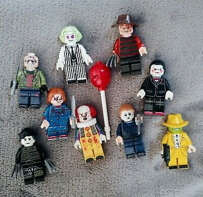Horror Movie Lego Brick Mini Figures • 3.75£