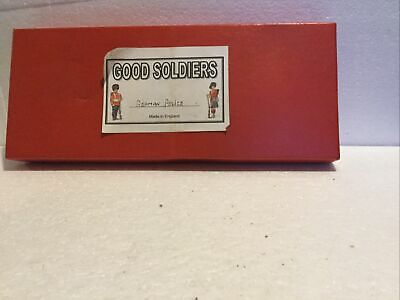 German Police Soldiers Hand Painted Boxed (Metal ) • 9.95£