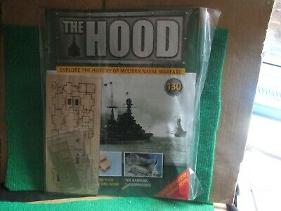 Hachette 1:200 Scale Build Hms Hood (issue 130 With Part) New  • 14.99£