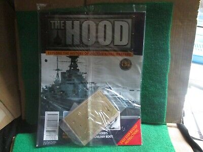 Hachette 1:200 Scale Build Hms Hood (issue 132 With Part) New  • 14.99£