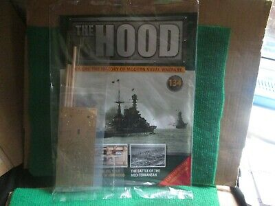 Hachette 1:200 Scale Build Hms Hood (issue 134 With Part) New  • 14.99£
