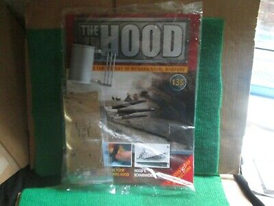 Hachette 1:200 Scale Build Hms Hood (issue 135 With Part) New  • 14.99£