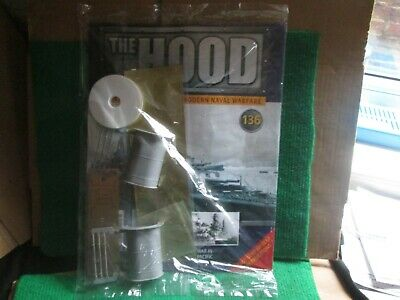 Hachette 1:200 Scale Build Hms Hood (issue 136 With Part) New  • 14.99£
