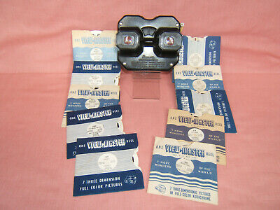 Vintage Sawyers View Master Viewer And 10 Slides   • 14.99£