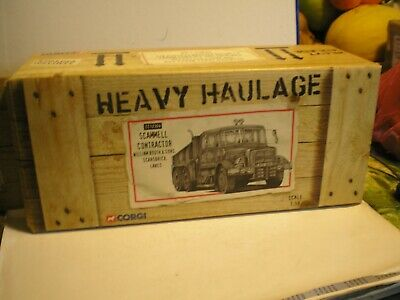 Corgi Die-cast Heavey Haulage Cc12304 Scammell Contractor William Booth • 34£