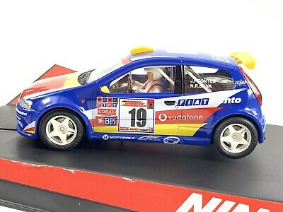 Ninco 50336 Fiat Punto Super 1600  Vodafone  No 19 Boxed • 30£