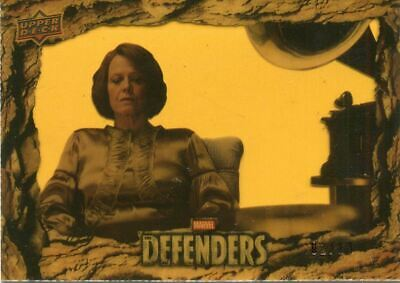 The Defenders Gold Acetate [13] Base Card #63 Ashes/ Ashes • 39.99£