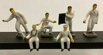 Vintage Corgi Silverstone Figures Racing Drivers & Pit Mechanics 1501 (full Set) • 26.99£