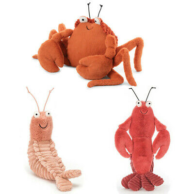 10.7  Shelton Shrimp Prawns Crayfish Crispin Plush Toy Gift NEW • 11.99£