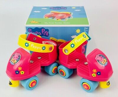 Peppa Pig Children's My First Toddler Roller Skates Outdoor Toy Gift • 18.99£