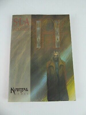 Sla Industries - Nightfall Games (1993) By Dave Allsop - Pre-owned • 14.99£