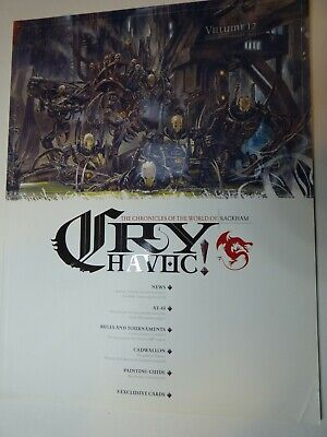 Cry Havoc Magazine Issue 12 With Cards, Rackham OOP And Very Rare • 9.99£