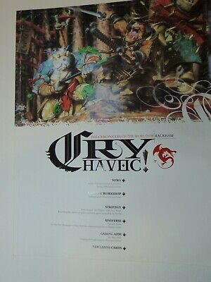 Cry Havoc Magazine Issue 7 With Cards, Rackham OOP And Very Rare • 9.99£