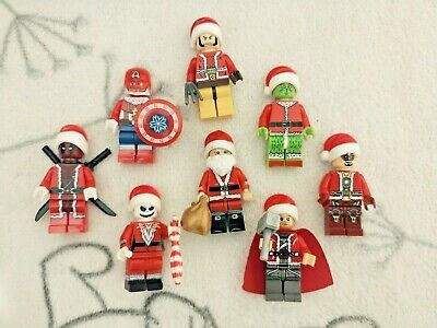 Christmas Theme Lego Brick Mini Figures • 3.75£