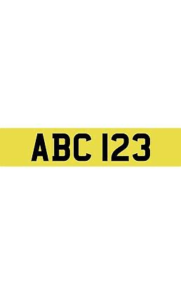 1/18 Th Scale Personalised Number Plates For  Diorama Or Model  Otto Sunstar • 3.50£