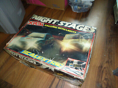 Scalextric , XR3 Night Stages 1980s • 45£