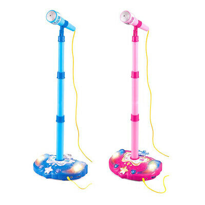 Kid Karaoke Stand Microphone Holder Music Microphone Toy Adjustable For Children • 13.99£
