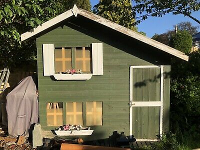 Childrens Outdoor Wooden Playhouse • 250£