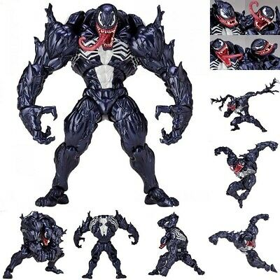 Marvel Spider-Man Venom Revoltech Series PVC Action Figure Model Collection Toys • 16.14£