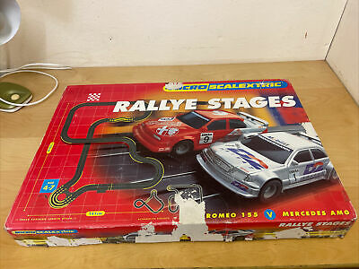 Micro Scalextric Track Rallye Stages • 18£